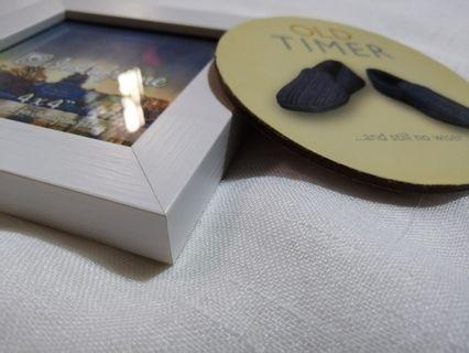 Picture Frame and Drink Coaster
