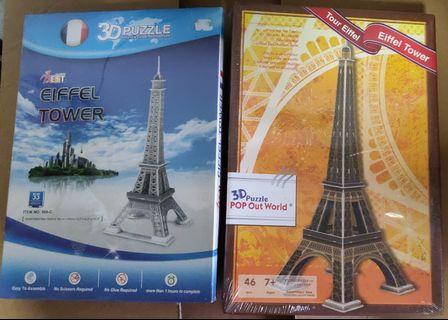 🚚 Eiffel Towel 3D Puzzle
