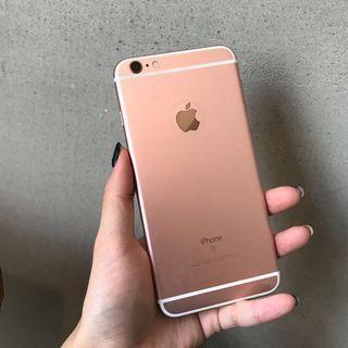 蘋果iphone 6splus 玫瑰金 64G