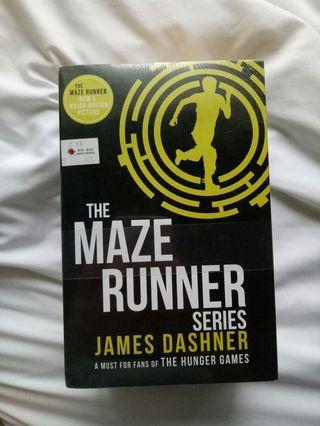 The Maze Runner - James Dashner NEW SET (4 books)