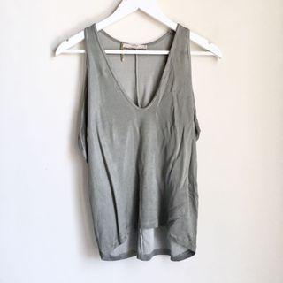ZARA ARMY GRAY