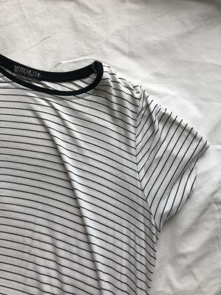 cotton on striped t shirt