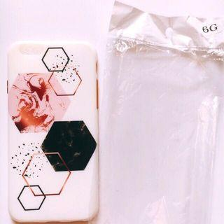 Preloved softcase hexagone iphone 6/6s