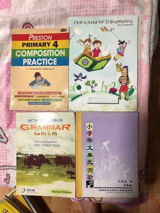 🚚 P4/5/6 practise & reference book each $8
