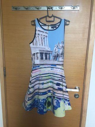 🚚 MDS Blue Rome Dress - New!