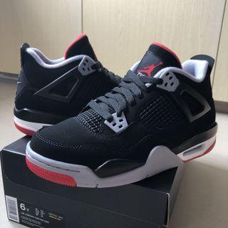 6y Jordan 4 Bred 2019