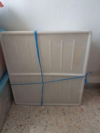 IKEA Gimse Bed Storage White
