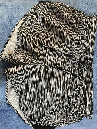 ❗️降❗️Nike斑馬紋運動短褲XL