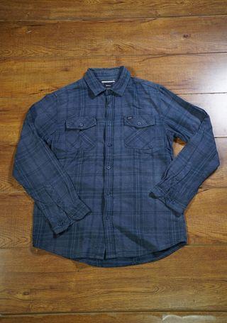RVCA Flannel shirt navy