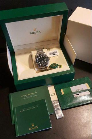 🚚 Rolex Submariner Date 116610LN (Black)