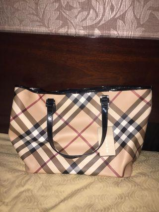 AUTHENTIC Burberry Nickie Tote