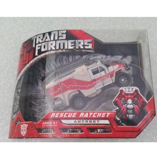 Hasbro Movie toys Voyager class Rachet (white) 2008 (wave 2)