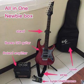 電吉他 擴音器 electric guitar, amplifier