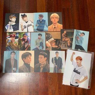[WTS] EXO OFFICIAL POSTCARDS/SUM PHOTOPRINT