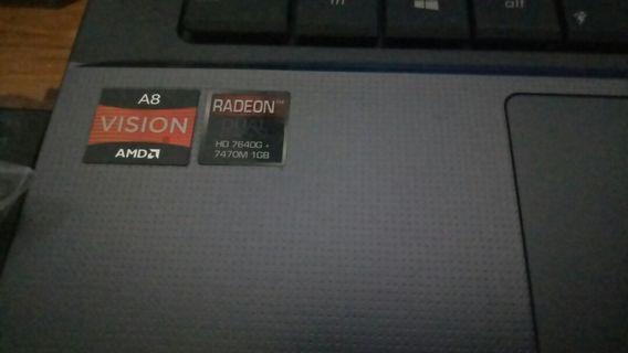 ASUS K45D AMD A8