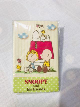 Snoopy envelopes with stickers from Japan 8pcs