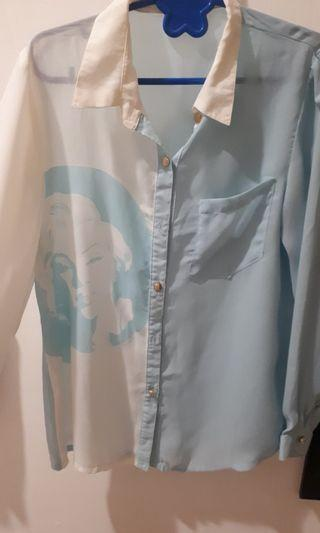 Gaudi Marilyn Monroe shirt
