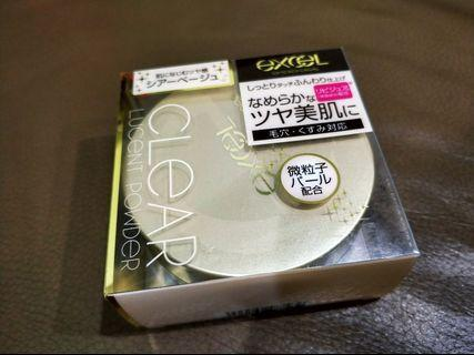 🚚 excel clear lucent powder 光感透亮蜜粉
