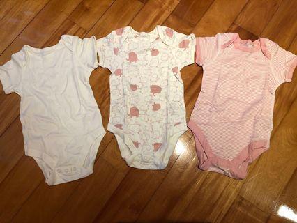 英國 馬莎 / Marks and Spencer baby / BB bodysuit / bodysuits / 夾衣 size 12-18 months