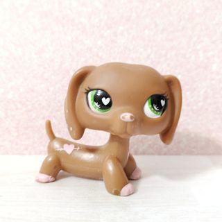 🚚 Littlest pet shop lps valentine's dachshund
