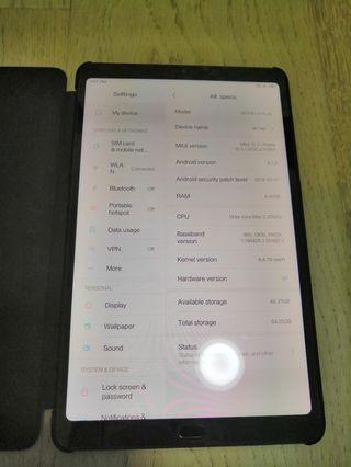 Mi pad 4 plus LTE 64gb 4gb ram
