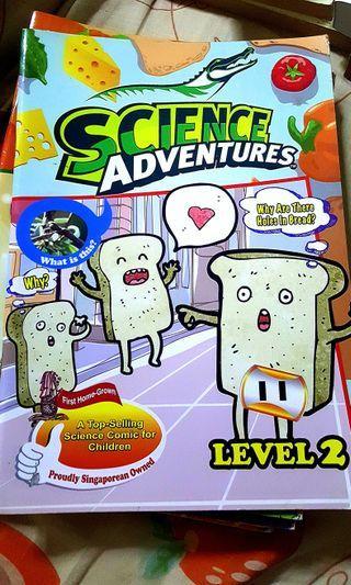 Science Adventures level 2 (more in description)