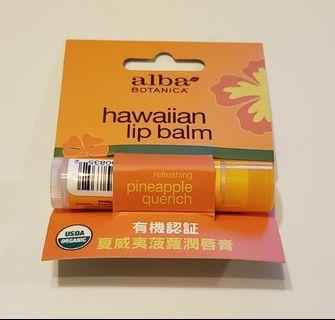 alba BOTANICA 夏威夷菠蘿潤唇膏