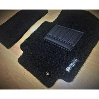 FIT NV200 FRONT DRIVER/PAX FLOOR CARPET MATS 02 PCS WITH NV200 LOGO ON DRIVER SIDE....COLOR AVAILABLE - BLACK, RED ,GREY ,BEIGE ,BROWN,GREEN & BLUE...