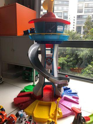 🚚 Paw Patrol Tower Lookout