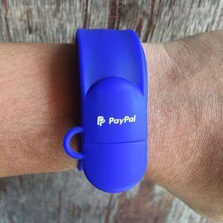 PayPal Slap Bracelet USB Flash Drive 32GB