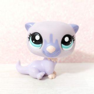 Littlest Pet Shop lps purple otter