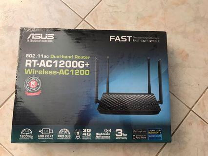 Asus dual band router RT AC1200G+
