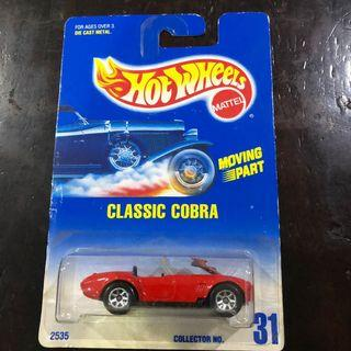Hotwheels Shelby Cobra