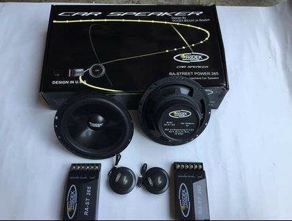 """Rodek RA-Street Power 265 6"""" Component Car Speaker"""