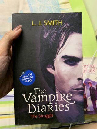 Novel Vampire Diaries - The Struggle