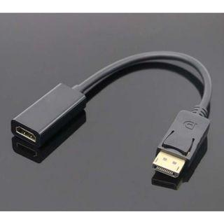 DisplayPort (DP) Male to HDMI Female Adapter Converter (suitable for computer to projector / monitor) 0