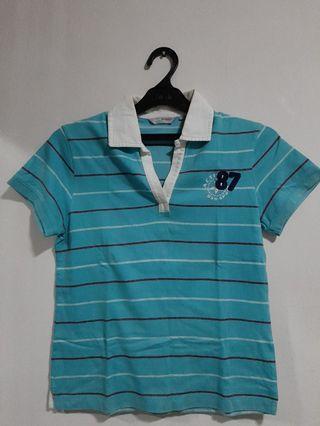 Kaos Wanita Berkerah / Bossini Shirt