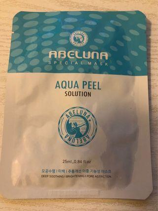 Abeluna Aqua peel solution mask