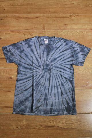 Gildan tie dye grey t shirt