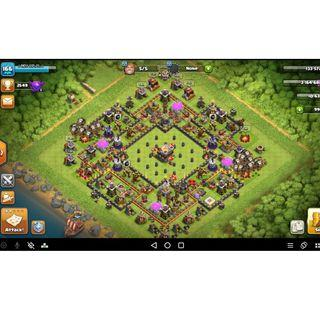 Clash Of Clans Account Town Hall 11 (Level 166)