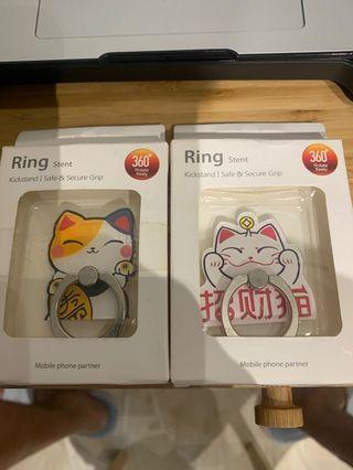 Fortune Cats Phone Ting Holder