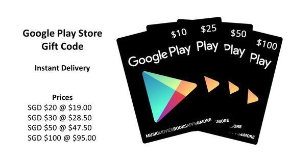 DISCOUNTED Google Play Store Gift Card (Code) INSTANT DELIVERY