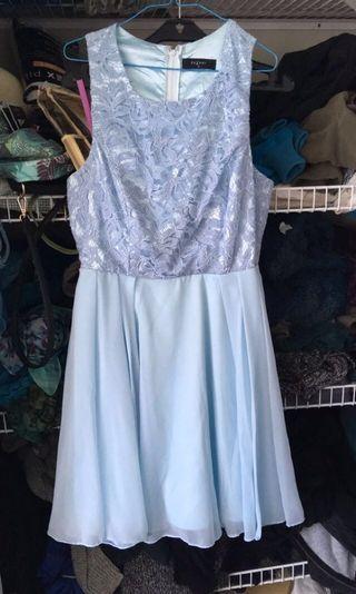 Pretty light blue dress #SwapNZ