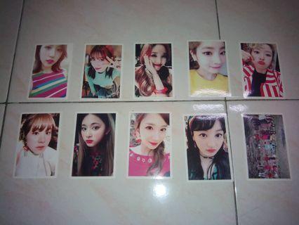 Twice Signal Album Benefits Photocard Set