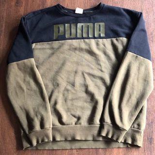 PUMA COLOUR BLOCK SWEATER