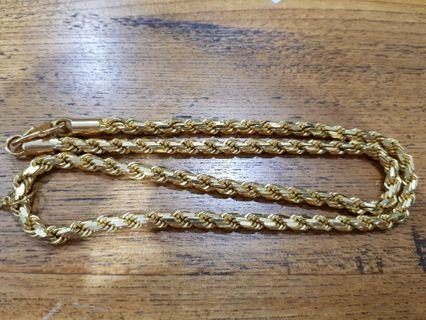 🚚 916 rope necklace
