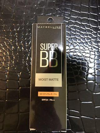 Maybe Kline BB cream- moist matte