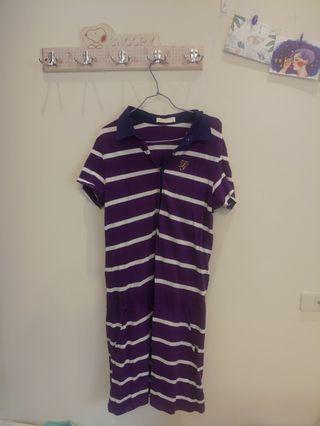 🚚 紫色連身裙