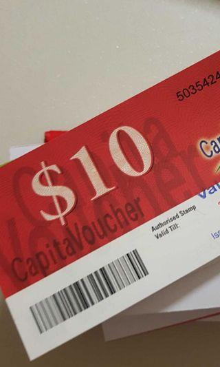 🚚 Want to buy Capitaland vouchers