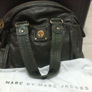 🚚 Marc by Marc Jacobs橄欖綠手提包 mbmj